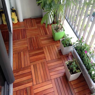 sàn vỉ gỗ căm xe tự nhiên 2