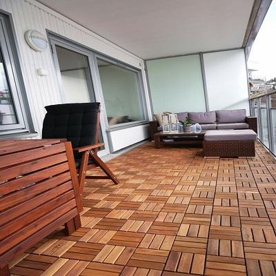 Sàn vỉ gỗ dầu tự nhiên