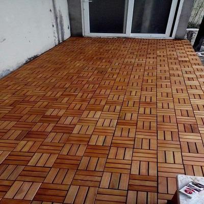 Sàn gỗ ban công gỗ dầu tự nhiên