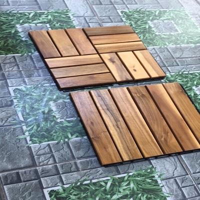 Sàn gỗ vỉ ngoài trời siêu chịu nước
